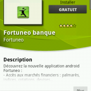 FORTUNEO lance une application ANDROID !