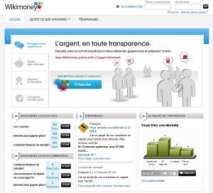 wikimoney : site communautaire autour de l'argent